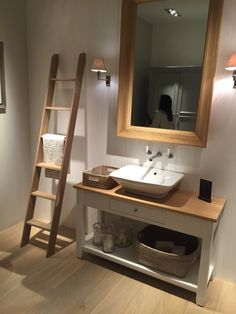 Ladders are great as a bathroom feature. Available in browsers.ie