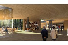 Wander in the woods  Architectural concept This is our entry for the invited competition for a new Arvo Pärt Centre in Kellasalu, located in a beautiful forest with tall pine trees on a bed of blueberry bushes, lingonberry heath, moss and ...
