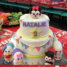 Disney Tsum Tsum Birthday Cake