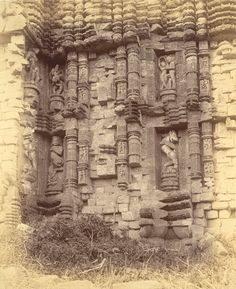 Sun Temple of Konark from Archaeological Survey of India Collections - 1890 - Part 1 - Old Indian Photos