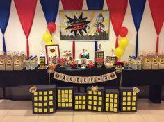Ultraman birthday party ideas birthday invites pinterest ultraman candy buffet for aqeef stopboris Images