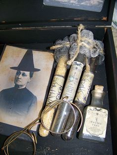 Vintage Witchery Kit.