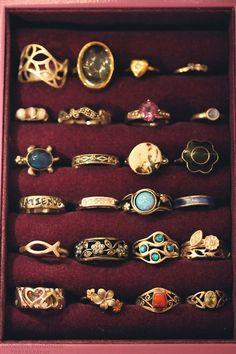 Vintage rings, yes please