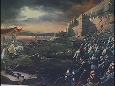 The Byzantine Empire (this term came later to define the East & West 'Romans') - was the Roman Empire during Late Antiquity & Middle Ages, centred at Constantinople, and was the direct continuation of the Roman State, maintaining Roman state traditions, but also oriented towards Greek culture. It existed for more than a thousand years until the Fall of Constantinople in 1453. During most of its existence, the empire was the most powerful economic, cultural, and military force in Europe.