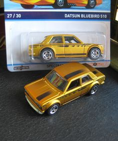 Datsun Bluebird 510 Hot Wheels Cool Classics...