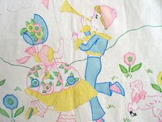 southern belle Vintage embroidery