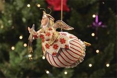 Patience Brewster Krinkles Celeste Star Fairy Ornament 08-30573 in Collectibles, Holiday & Seasonal, Christmas: Current (1991-Now) | eBay