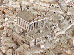 Maquette de Rome (musée de la civilisation romaine, Rome) (5911810278) - Capitole — Wikipédia