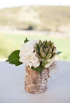 Wedding Trends: SUCCULENTS in Santa Barbara on Borrowed & Blue.