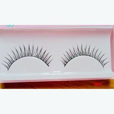 Hand-made Natural Looking Long Thick Short Crossed False Eyelashes fake eye lashes makeup beauty tools 007#