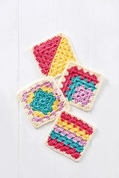 Granny Square Series Part Two Crochet Pattern