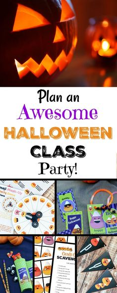 Plan an Awesome Halloween Class Party!
