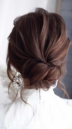 42 Gorgeous Wedding Hairstyles---Prom Hairstyles For Long Hair, elegant updo wed. Gorgeous Wedding Hairstyles---Prom Hairstyles For Long Hair, elegant updo wedding hairstyles for short hair or medium length hair. Formal Hairstyles For Long Hair, Down Hairstyles, Straight Hairstyles, Indian Hairstyles, Beautiful Hairstyles, Wedding Hairstyles Half Up Half Down, Wedding Hairstyles For Long Hair, Black Women Hairstyles, Updos For Thin Hair