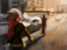Out-of-focus Paintings - So lovely!  By Phillip Barlow.
