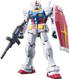 The very first original pioneer Mobile Suit Gundam based on the 1979 animation series.