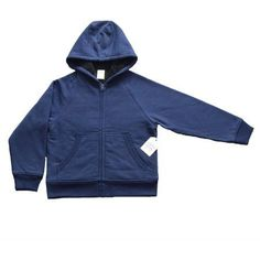 Faded Glory Boys Sherpa Hoodie, Available in Solids, Camo, and Marled, Size: XS, Blue