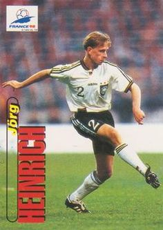 1998 Panini World Cup #23 Jorg Heinrich Front
