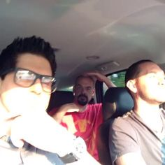"""Watch Zak Bagans's Vine, """"We always have to listen to Aaron's traditional song on our way to lockdown. We jus gotta keep him happy so we let him"""""""