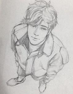 模 写 boy sketch, manga drawing, boy hair drawing, drawing of a boy, amazin. Boy Drawing, Manga Drawing, Figure Drawing, Drawing Sketches, Sketching, Drawing Ideas, Drawing Tips, Drawing Artist, Boy Sketch