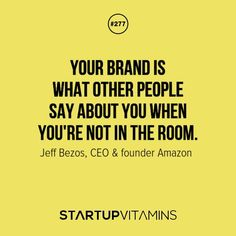 YOUR BRAND IS...