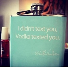 Ah yeah, the drunk text. We have all been there.