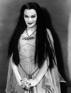 Lily Munster, Yvonne De Carlo. She was a great dancer and singer. She trained in opera and released an album in 1957. She even played the harp. She appeared in many musicals.