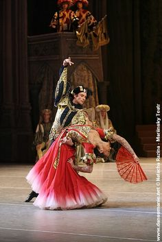 Despite it being another ballet photo the Spanish segment of Swan Lake Act III is captured completely in these costumes. It brings out the ethnicity and colour.