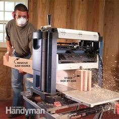 How to Use a Bench-Top Planer