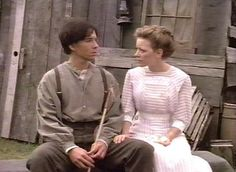Gus Pike and Felicity King. Avonlea Village, Road To Avonlea, My Romance, Movie Couples, Prince Edward Island, Anne Of Green Gables, Best Series, Old Tv, Conte