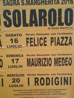 Sagra S. Margherita a Solarolo MN http://www.panesalamina.com/2016/49647-sagra-s-margherita-a-solarolo-di-goito-mn.html