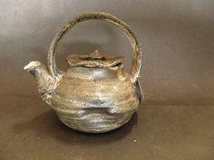 Rustic Soda fired ceramic teapot by AntwarePottery on Etsy. Ceramic Teapots, Soda, Tea Pots, Pottery, Fire, Rustic, Ceramics, Coffee, Unique Jewelry