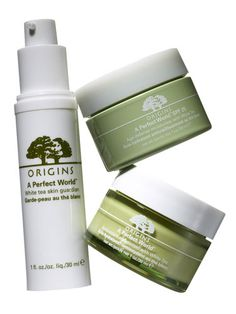 Origins Skincare - a perfect world. Love the moisturizer with SPF & the face wash. Love this set