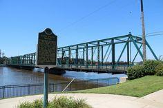 Historic Sixth Street Bridge in Grand Rapids, Michigan