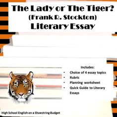essay the tiger