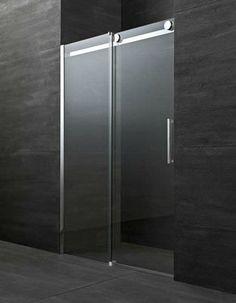 Mampara de ducha corredera para duchas empotradas FLUIDA FW GLASS