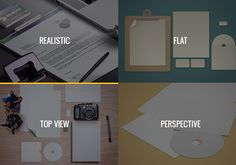 Stationery Mockup Templates Pack