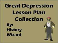 I am going to write a 6-8 pages research paper about the great depression, any ideas?