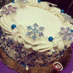 Snowflakes Cake by MyCakes