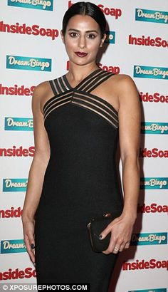 Stylish siblings: Sair Khan and Qasim Akhtar who play brother and sister Alya and Zeedan Nazir in Coronation Street both put their most stylish foot forward for the event Dream Bingo, Inside Soap, Soap Awards, Rubber Dress, Latex Dress, Night Club, Sexy Women, Siblings, Female