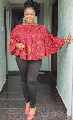 African Fashion Ankara, Latest African Fashion Dresses, African Print Fashion, Africa Fashion, African Dresses For Women, African Attire, African Tops For Women, African Inspired Clothing, African Blouses