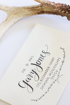 Custom Calligraphy Wedding Invitations or Save by SarahTateDesigns, $2.00