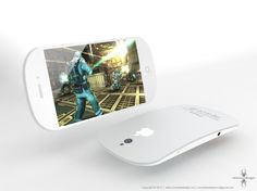 if only it was. This is the idea by Ciccarese Design, an Italian design company and what they think the iPhone 5 should look like. To me it looks like a cross between Apple's Magic Mouse and the iPhone. We can only wait and see. Apparently all will be revealed at the beginning of March along with maybe the iPad 3.