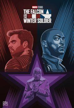 Marvel Films, Marvel Series, Marvel Art, Marvel Avengers, Poster Marvel, Marvel Comic Universe, Marvel Cinematic Universe, Winter Soldier Wallpaper, Soldier Drawing