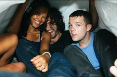 Russell Tovey looks a little goofy in this pic, but Aidan just looks unbelievably good...