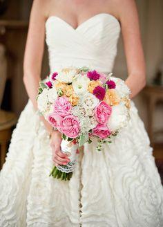 Philadelphia Wedding by La Petite Fleur + Lori Gail Photography | Style Me Pretty