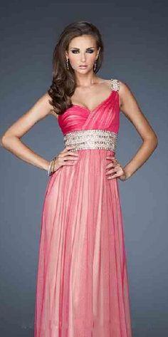 Sexy One-Shoulder Long Sleeveless A-Line Evening Dress Sale lkxdresses15642jjn #longdress #promdress