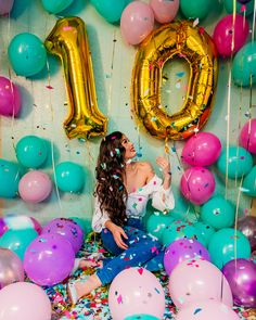 19 New Ideas Birthday Pictures With Balloons Birthday Goals, 23rd Birthday, Sweet 16 Birthday, Birthday Celebration, Cute Birthday Pictures, Birthday Photography, Birthday Party Decorations, Balloons, Forever Grateful