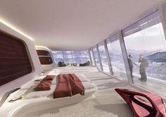 Küsnacht Villa in Zurich, Switzerland by Zaha Hadid