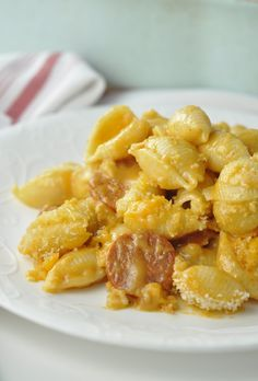 Quick and easy Buffalo Chicken Sausage Macaroni & Cheese recipe ...