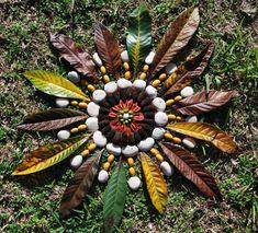 A Comprehensive Overview on Home Decoration - Modern Flower Mandala, Mandala Art, Flower Art, Land Art, Ephemeral Art, Organic Art, Art Sculpture, Crystal Grid, Autumn Garden